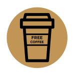 sign up for news and a free coffee