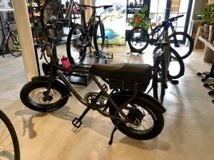 Knaap Bike In The EBIKE Cafe Showroom