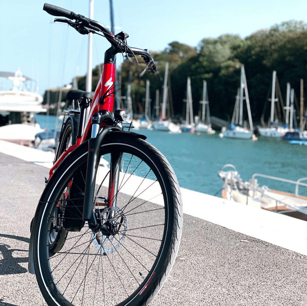 Specialized EBIKE on Weymouth Harbourside